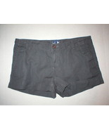 NWT New Womens North Face Shorts Gray 12 Outdoor Hike Casual Nice Beach ... - $29.25
