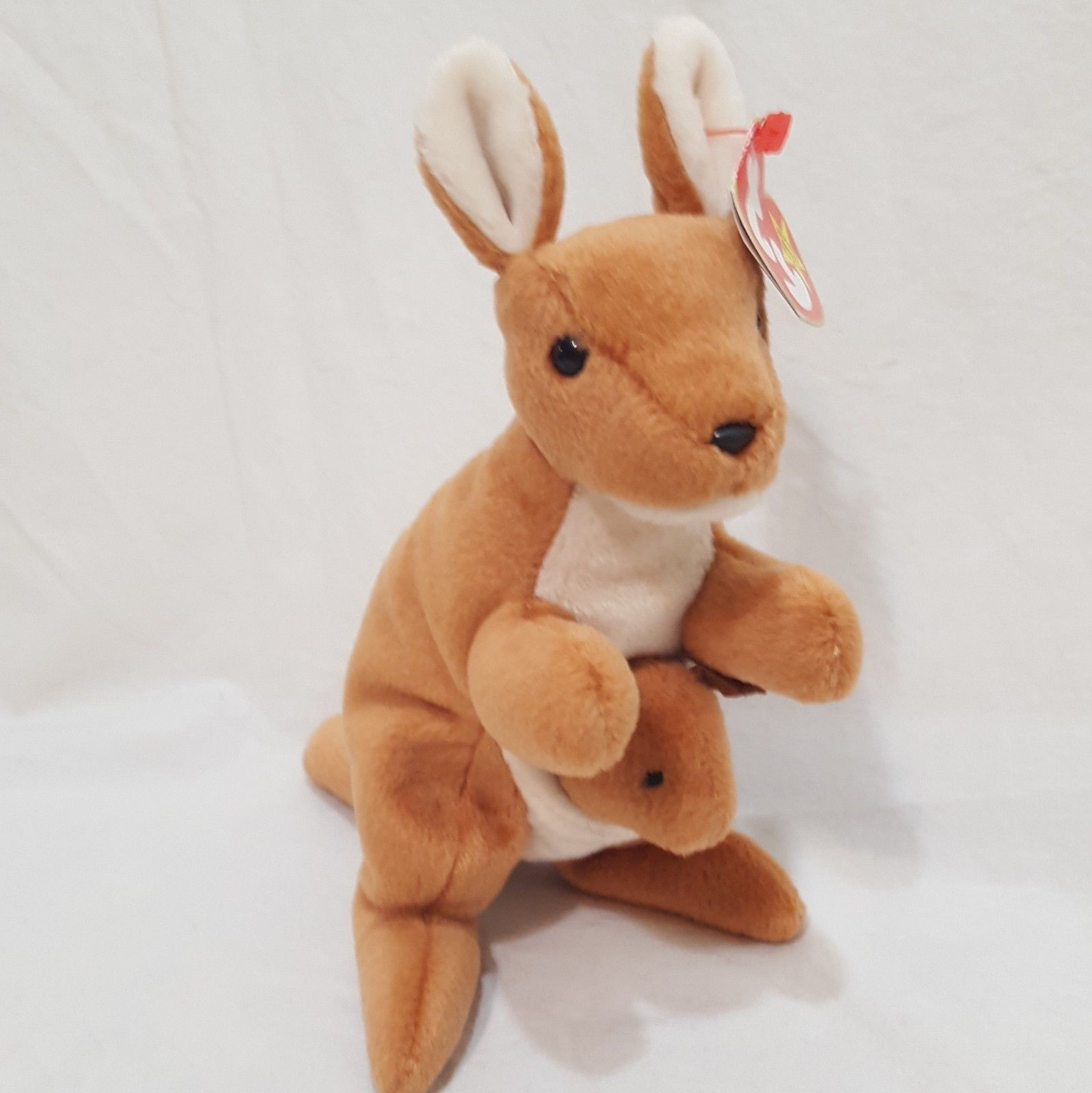 c2496a56dcd Pouch Kangaroo Joey 1996 Ty Beanie Babies and 16 similar items. S l1600