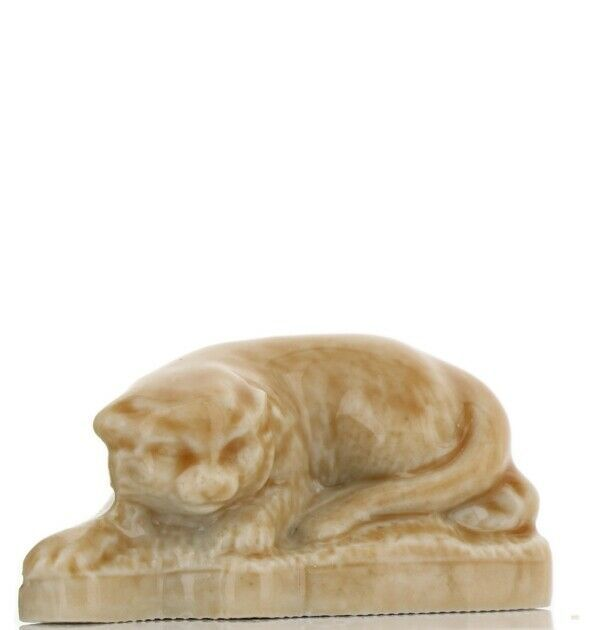 Cat Collection Tom Smith Crackers Porcelain Miniatures by Wade Cat Stalking