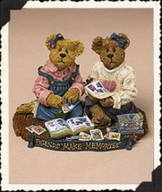 "Boyds Bearstone  ""Jen & Michelle..Scrapbook Friends"" #2277924- 2003-Retired - $29.99"