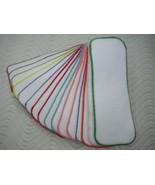 3 layers Cloth Diaper Liner Insert Soaker Doubler Bamboo Cotton Fleece Hemp - $3.71