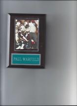 Paul Warfeild Plaque Miami Dolphins Football Nfl - $2.56