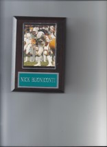 Nick Buoniconti Plaque Miami Dolphins Football Nfl - $2.56