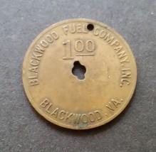 $1.00 Blackwood Fuel Co. Mining Scrip Token 1 Dollar  Blackwood, Virginia  - $17.82