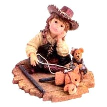 "Boyds Dollstone ""Calamity with Little Bear.. Whoa is Me"" #3561- 1E- NIB- 2000 - $19.99"