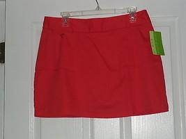 Allyson Whitmore Golf Skorts Size 14 P Stretch Tilt Scarlet Nwt - $17.94