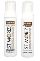 St. Moriz Instant Self Tanning Mousse Medium 200Ml - Pack of 2 - €11,71 EUR