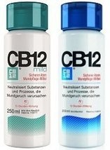 CB12 Safe Breath Oral Care Agent - 2 Pack (1x Mint Menthol 250ml, 1x Min... - $47.51