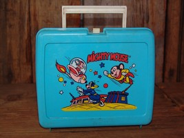 "VINTAGE COLLECTIBLE ""MIGHTY MOUSE"" LUNCH BOX (Char's Attic) - $20.00"
