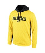 "Nike Oregon Ducks KO Therma-FIT Yellow Hoodie ""X-Large"" - $34.64"