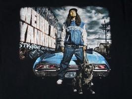 Weird Al Yankovic Straight Outta Lynwood Tour Concert Shirt Black Sz M EUC - $25.51 CAD