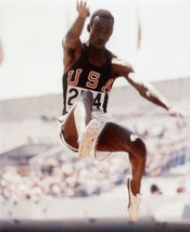 Bob Beamon Olympics Vintage 8X10 Color Track and Field Memorabilia Photo - $6.99