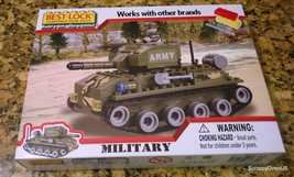 Best-Lock  Construction toy Miltary Tank - $11.30
