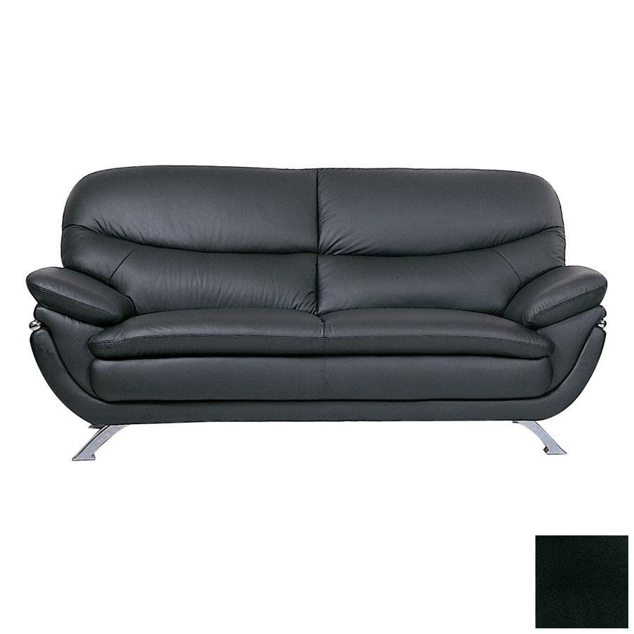 BH Jonus Living Room Stationary Sofa Set 3pc. Top Grain Leather Contemporary