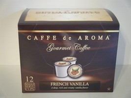 Lenier's French Vanilla 12 Single Serve K-Cups Free Shipping  - $9.99