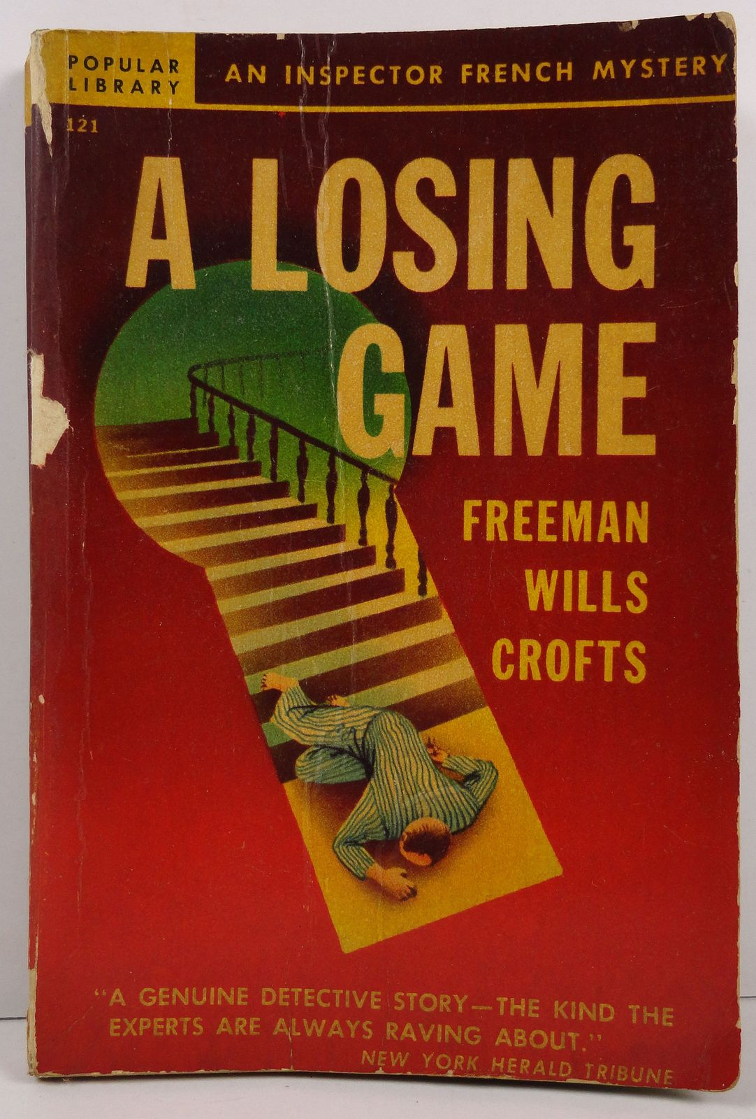 A Losing Game by Freeman Wills Crofts Popular Library 121