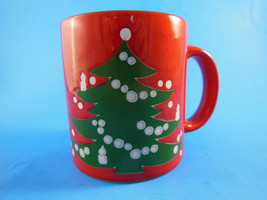 Waechtersbach West Germany Christmas Tree Mug R... - $8.90