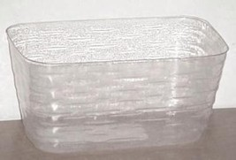 Longaberger JW Mini Market Basket Plastic Protector Only New Authentic - $14.80