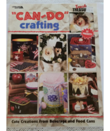 Recycled Cans Can-Do Crafting by Leisure Arts 3... - $5.95