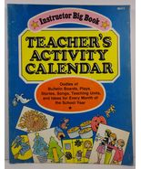 Teacher's Activity Calendar Instructor Publications Big Book - $4.99