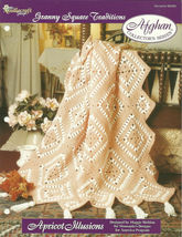Needlecraft Shop Crochet Pattern 962300 Apricot Illusions Afghan Series - $4.99
