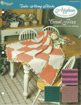 Needlecraft Shop Crochet Pattern 932040 Coral Fizz Afghan Collectors Series - $4.99