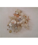 Glass Bead Lot White 4 ounces - $4.50