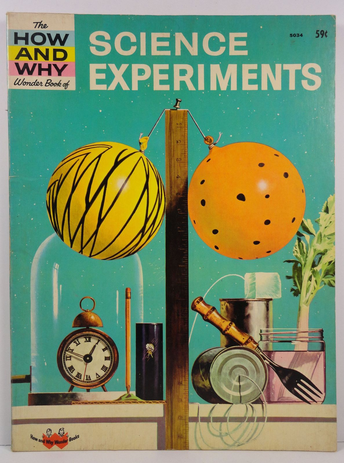 The How and Why Wonder Book of Science Experiments 1969