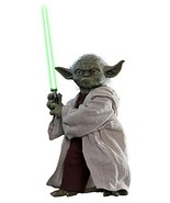 Hot Toys Yoda 1/6 Sixth Scale Star Wars Episode II: Attack of The Clones... - $420.75