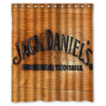 JD American Drinking #08 Shower Curtain Waterproof Made From Polyester - $29.07+