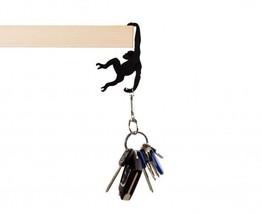 Keychain Original Design Lifestyle Holder Gifts Decorative monkey Metal ... - $19.00