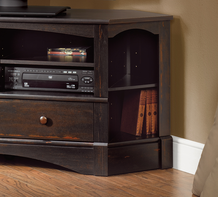 corner tv stand for flat screen 60 inch with storage entertainment center wood entertainment. Black Bedroom Furniture Sets. Home Design Ideas