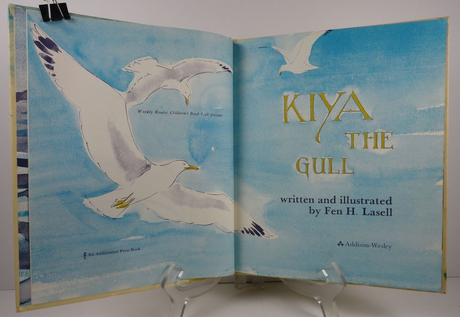 Kiya the Gull by Fen H. Lasell 1969 Weekly Reader