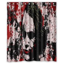 Joker #04 Shower Curtain Waterproof Made From Polyester - $29.07+