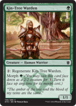 Magic The Gathering-Khans of Tarkir-Kin-Tree Warden  - $0.09