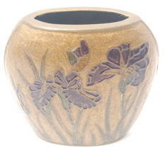Champlevé Oval Brass Vase Made in India - €12,38 EUR