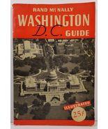 Rand McNally Guide to Washington and Environs 1941  - $4.99