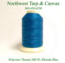Thread, Polyester, Coats Bonded, Thread-4 oz. Spool, Rhonda Blue - Size ... - $24.29