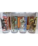 Star Wars 10 oz glasses Vader, Boba Fett, Clone... - $16.95