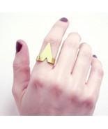 Unisex Stylish Punk Style Sharp Triangle Ring( Silver ) - $5.99