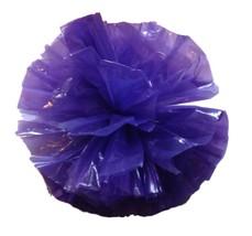 "25 Car Limo wedding Decoration Plastic Pom Poms Flower 4"" - purple - $4.94"