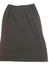 "Nice DANA BUCHMAN  Lined  Career SKIRT Misses Size 4  Waist 26"" Length 2... - $13.58"