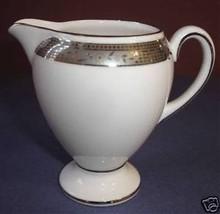 Wedgwood Marcasite Globe Creamer Platinum Trim New - $14.99