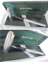 SHEAFFER PRELUDE PENNA A SFERA CROMATA +SCATOLA Brushed Chromed Roller B... - $32.49