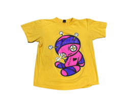Vintage IcedOut Iced Out By Selah T Shirt Size Medium Pink Purple Doll D... - $25.00