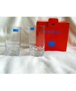 NEW NIB Pair of Rogaska REFLECTION  Crystal Highball Glasses Tumbler #11... - $27.71