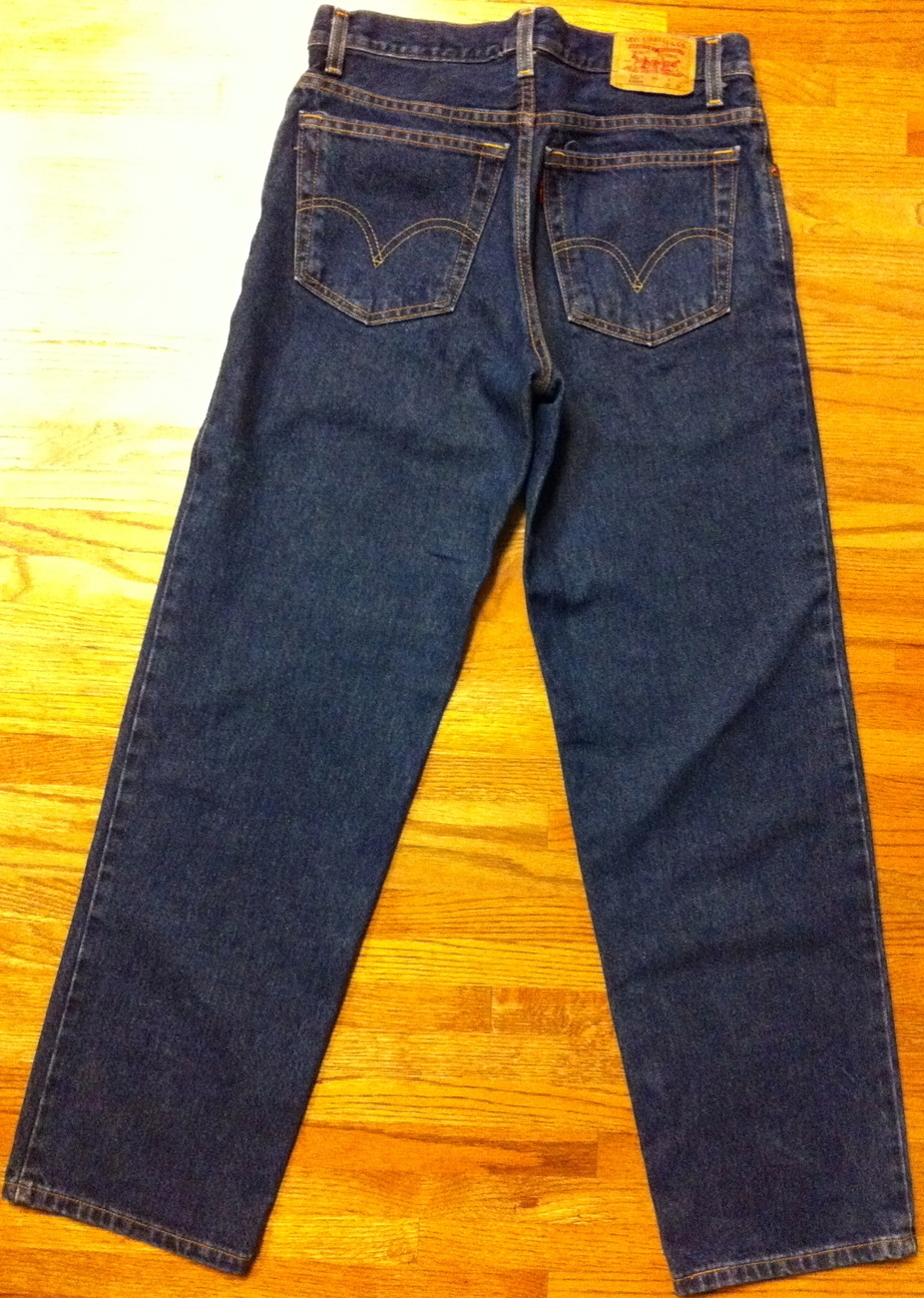 Used Men's 550 Student Levis ~ SZ 30 x 30 ~ Relaxed Fit