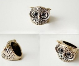 Lovely Vintage Owl Cocktail Ring - $5.99