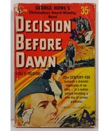 Decision Before Dawn by George Howe 1951 Pocket Book 748 - $3.99