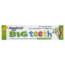 Aquafresh Big Teeth Toothpaste 6+yrs 50ml - $8.74
